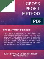 Gross Profit Method
