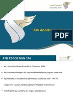 Aircraft Summary Information