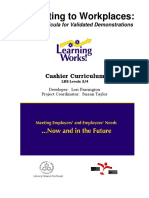 Cashier Curriculum