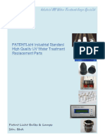 Patent UV Products Brochure 2016