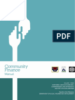 Community Finance Manual-5.18.11
