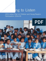 Learning to Listen-Children and Young People-DFID