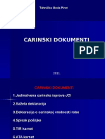 Carinski Dokumenti