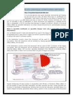 Degree Certificate Apostille Attestation Services