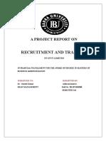 Requurtment and Training