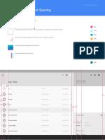 Layout Desktop Whiteframe-Material Design
