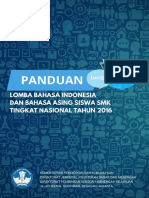 Panduan Pelaksanaan Lomba Bahasa 2016