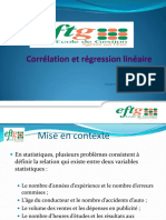 Regression Et Correlation