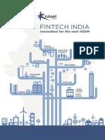 Kalaari Fintech Report 2016
