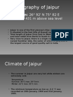 Climate Responsive Architecture of Jaipur