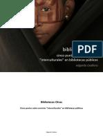 Bibliotecas Otras. Cinco puntos sobre servicios interculturales en bibliotecas públicas