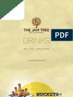 Jam Tree Drinks Menu
