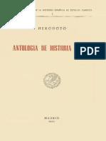 Antología de Historia Griega