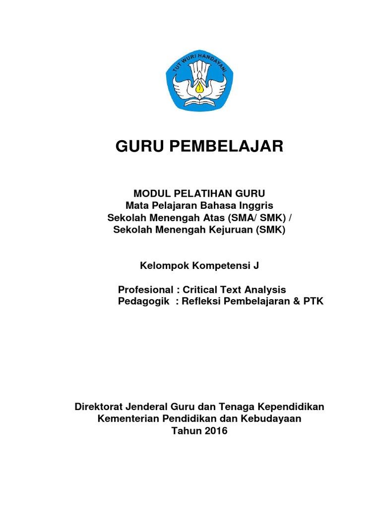 Modul Kk J1 B Ing Sma Revisi Harris Pdf Indonesian Language