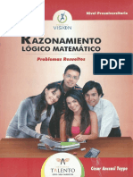 Talento - Razonamiento Matematico