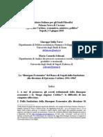 Epicarmo Corbino e la direzione della Rassegna Economica del Banco di Napoli, 1931-1984