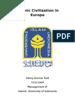 Islamic Civilization in Europe