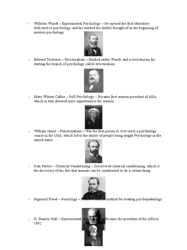 what was wilhelm wundt contribution to psychology