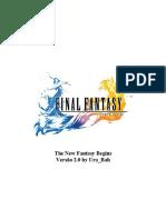 3D&T - Final Fantasy