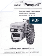 Pasquali 946 Manual Uso Italiano