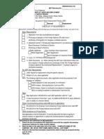 AEP Checklist