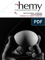 Alchemy Film Festival 2016 Brochure