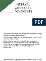 Internal Warehouse Movements