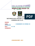la-ruta-12 aplicacion de metrica version 3.0
