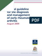 Cp118 Early Rheuarthrm Arthritis