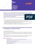 Handicap 2014 -MESR Guide Handicap Declaration 365653