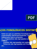 Traços Fonológicos Distintivos