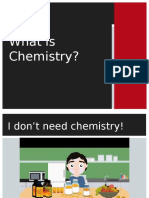what is chemistry-