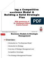 Session2_Business Model and Strategic Plan