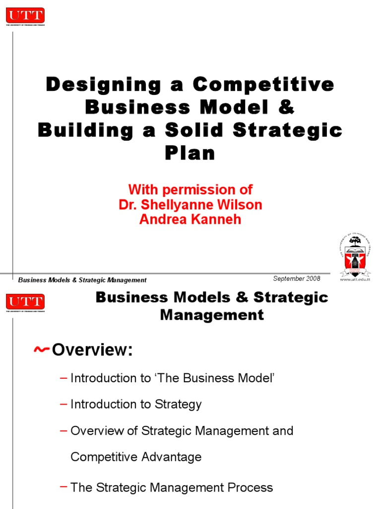 business model strategic plan part1kamrt