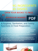 Preparing Ingredients and Dishes [Autosaved]