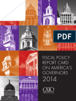 Fiscal Policy Report Card on America's Governors 2014