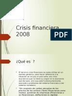 Crisis Financiera PRESENTACION