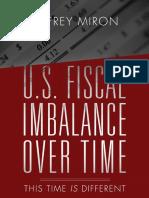 U.S. Fiscal Imbalance over Time