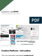 Intro to Creative Platforms