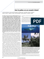 Sympatric Speciation in Palms on an Oceanic Island