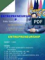 Aturan Kuliah Entrepreneurship