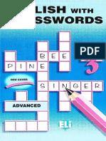 Crossword Puzzle Book 3 - Advanced
