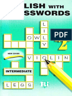Crossword Puzzle Book 2 - Intermediate