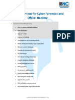 Ethical Hacking, Cyber Forensics (10 Days)