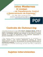 3. Contratos de Transferencia, Control y Asesoramiento de Empresas