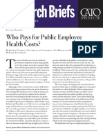 Who Pays for Public Employee Health Costs?