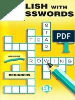 Crossword Puzzle Book 1 - Beginners