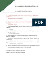 Temas Organización Del Estado