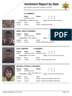 Peoria County Jail Booking Sheet for Sept. 29, 2016