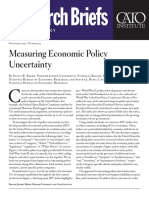 Measuring Economic Policy Uncertainty